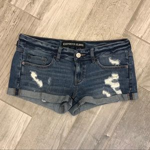 ✨NEW✨ Express Boyfriend Distressed Shorts